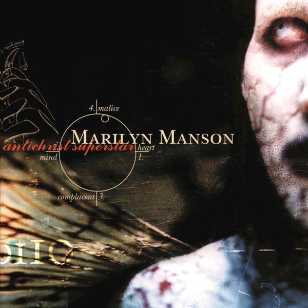 Antichrist Superstar Marilyn Manson CD cover