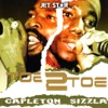 Toe 2 Toe - Capleton and Sizzla ジャケット写真