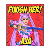 Finish Her! (feat. WNNR & DJ Accident Report) - Aja