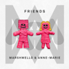 Marshmello & Anne-Marie - FRIENDS ilustración