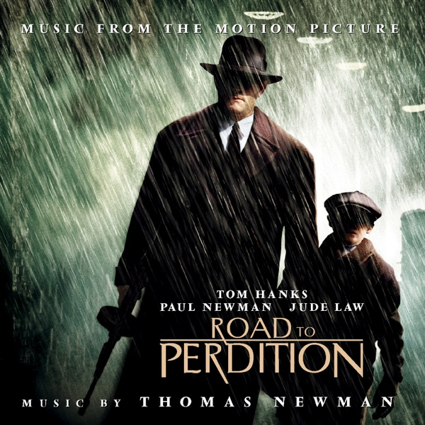 Road to Perdition Soundtrack from the Motion Picture Thomas Newman CD cover