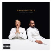 Banks & Steelz - Anything But Words  artwork