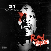 Red Opps - 21 Savage Cover Art