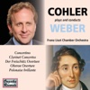 Cohler Plays & Conducts Weber