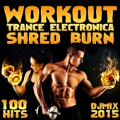 Workout Trance Electronica Shred Burn 100 Hits DJ Mix 2015