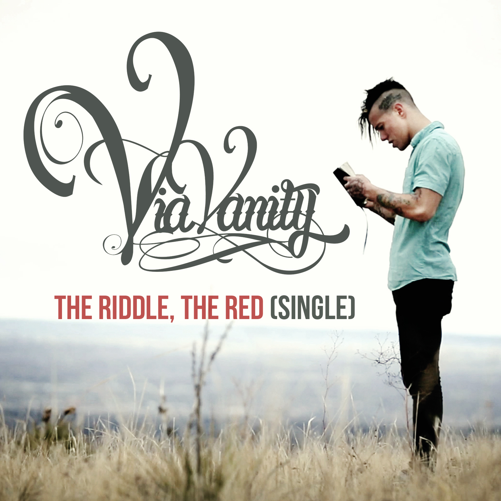 Via Vanity - The Riddle, the Red [single] (2014)