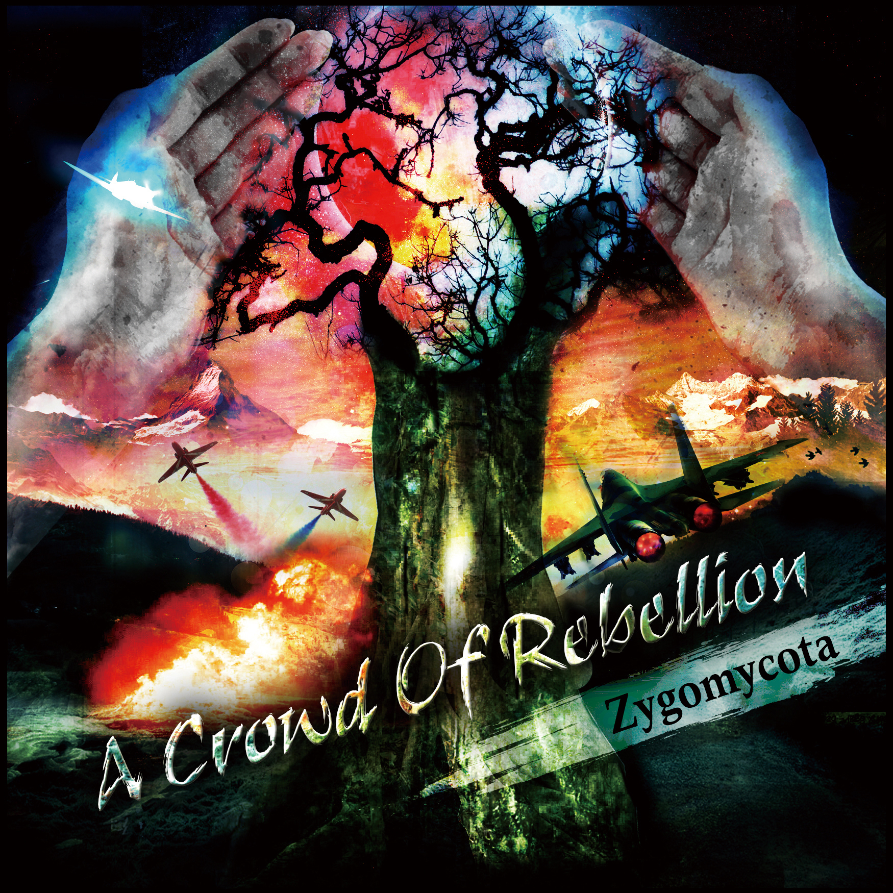 A Crowd Of Rebellion - Zygomycota [EP] (2013)