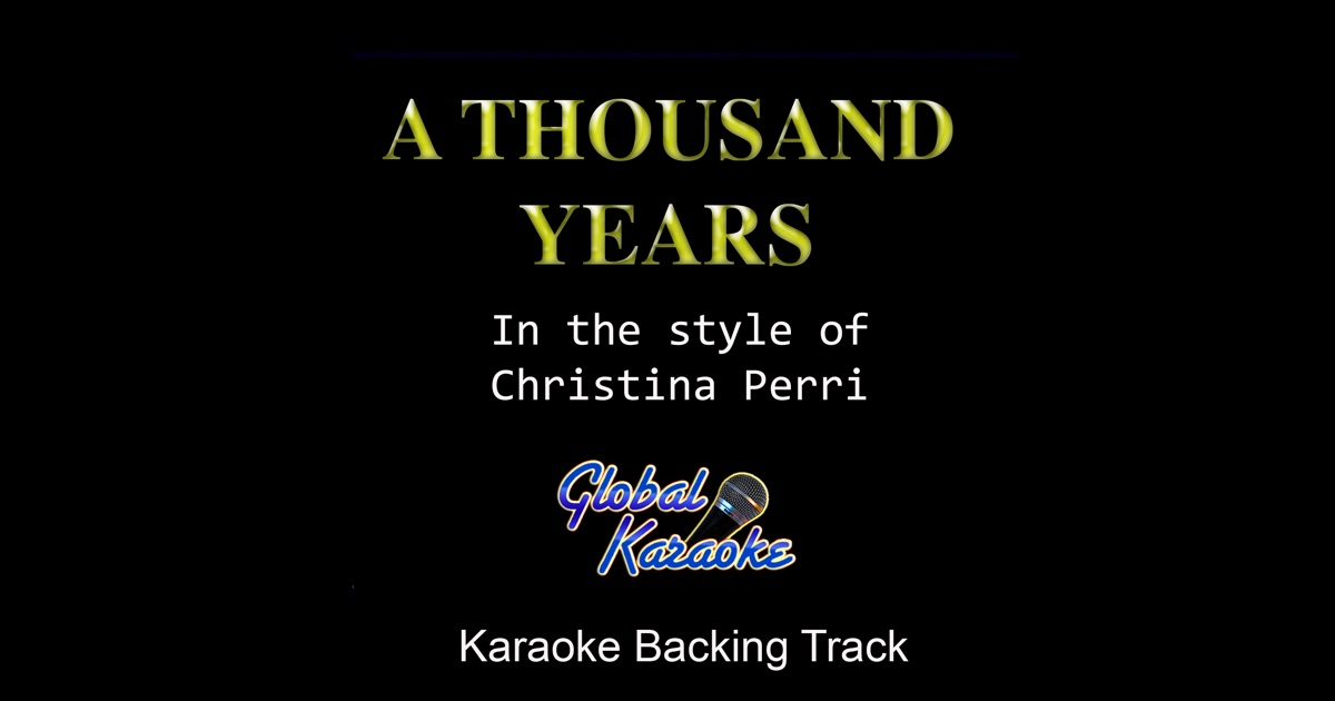 Karaoke 100 Years - Video with Lyrics - Five for Fighting