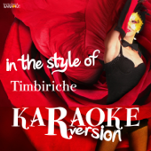Karaoke (In the Style of Timbiriche)