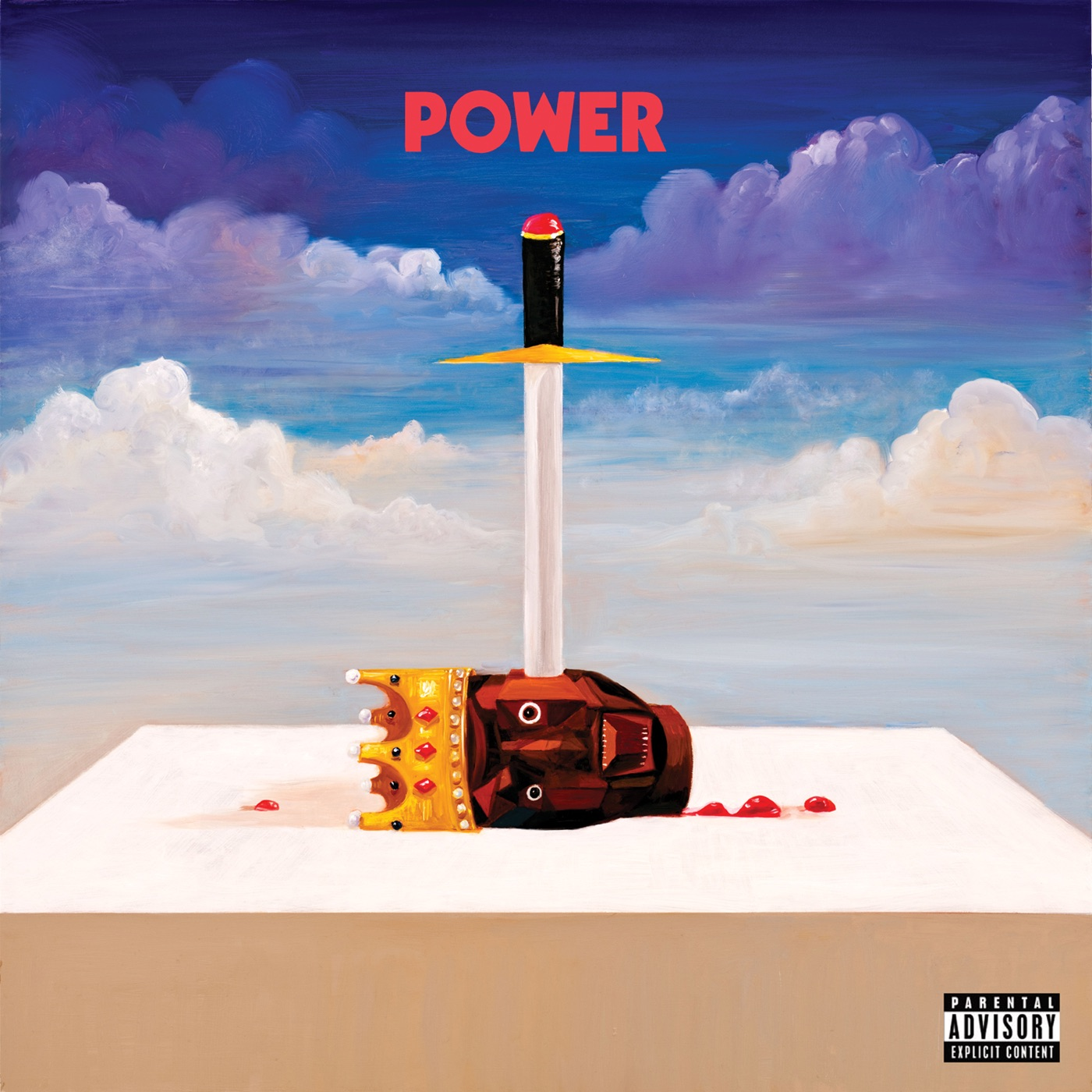 Kanye West - Power - Single Cover
