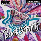 Back and Forth (Exige Remix) - Single cover art