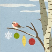 Sparrow in the Birch