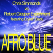 Afro Blue - Mixes - Single cover art