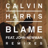 Blame (Remixes) [feat. John Newman] - EP cover art