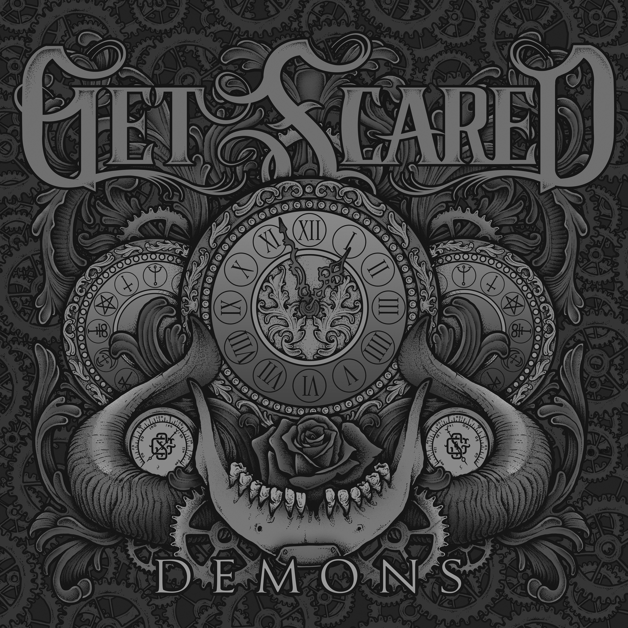 Get Scared - R.I.P. [Single] (2015)