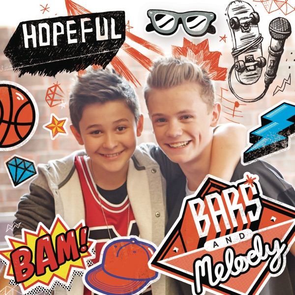 Hopeful - Single Bars and Melody CD cover