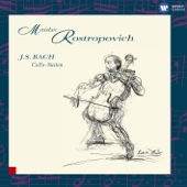 Mstislav Rostropovich - Bach: Cello Suites  artwork
