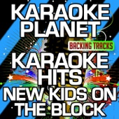 Tonight (Karaoke Version With Background Vocals) [Originally Performed By New Kids On the Block]