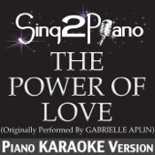 The Power of Love (Originally Performed By Gabrielle Aplin) [Piano Karaoke Version]