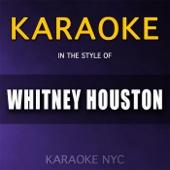 Karaoke (In the Style of Whitney Houston)