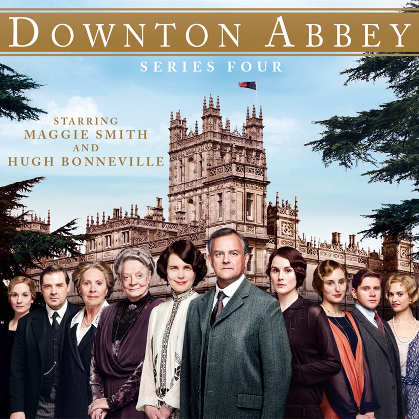 """Downton Abbey, Staffel 4"" in iTunes"