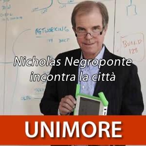 Nicholas Negroponte incontra la città [Video]