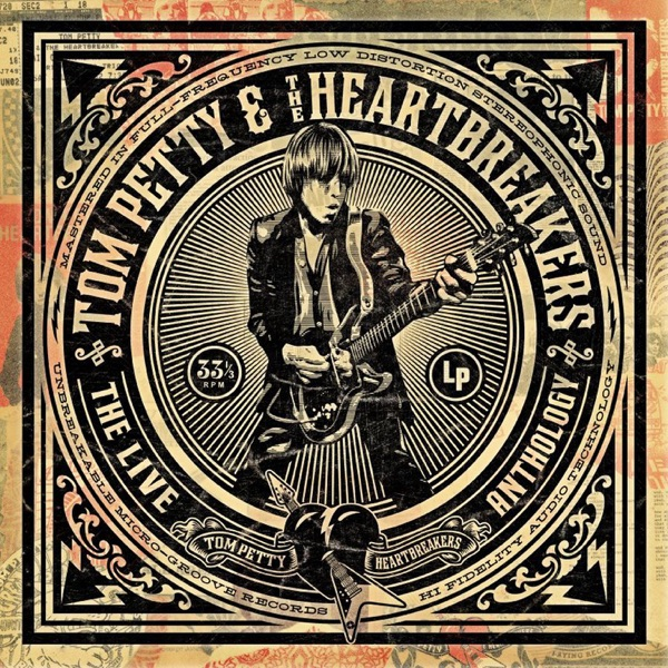 The Live Anthology Tom Petty  The Heartbreakers CD cover