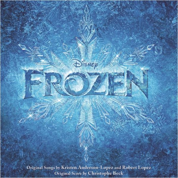 Frozen Original Motion Picture Soundtrack Various Artists CD cover