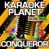 Conqueror (Karaoke Version With Background Vocals) [Originally Performed By Empire Cast & Estelle & Jussie Smollett] - A-Type Player