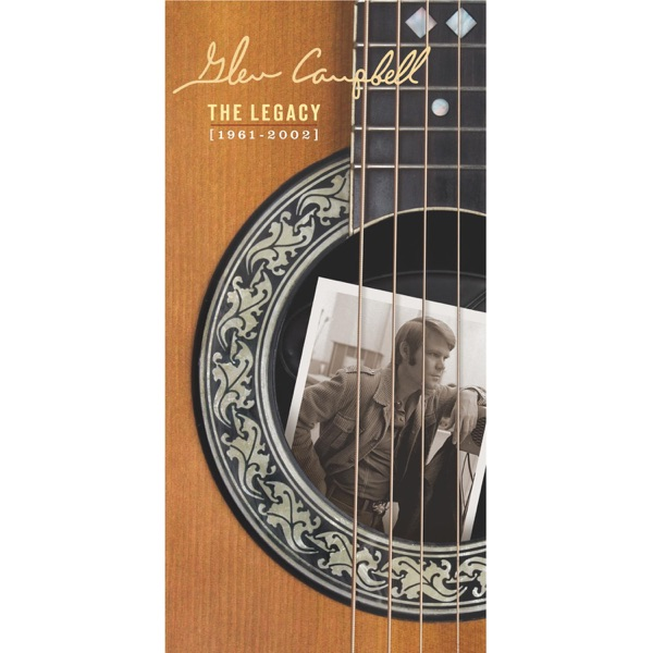 The Legacy 1961-2002 Glen Campbell CD cover