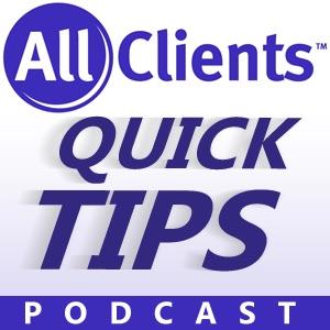 AllClients.com CRM Quick Tips Podcast