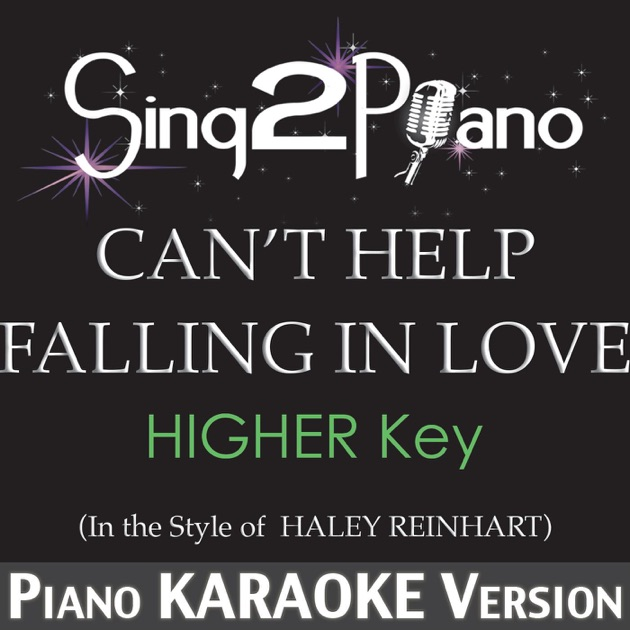 Can't Help Falling in Love (Higher Key) [In the Style of ...