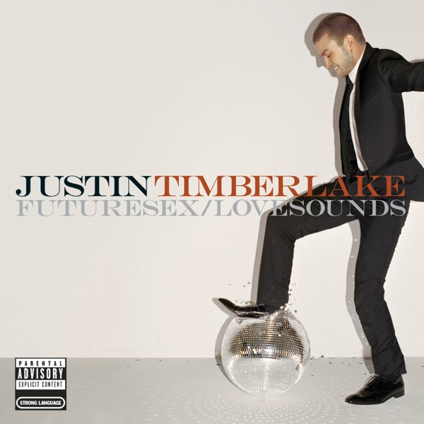 FutureSexLoveSounds Justin Timberlake CD cover