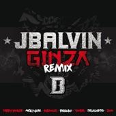 Ginza (Remix) [feat. Yandel, Farruko, Nicky Jam, DeLaGhetto, Daddy Yankee, Zion & Arcángel] - Single
