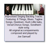 Backing Tracks for Improvisers