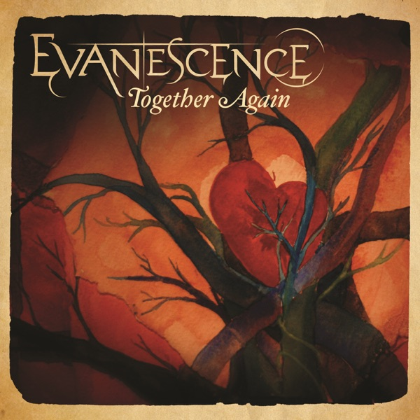 Together Again - Single Evanescence CD cover