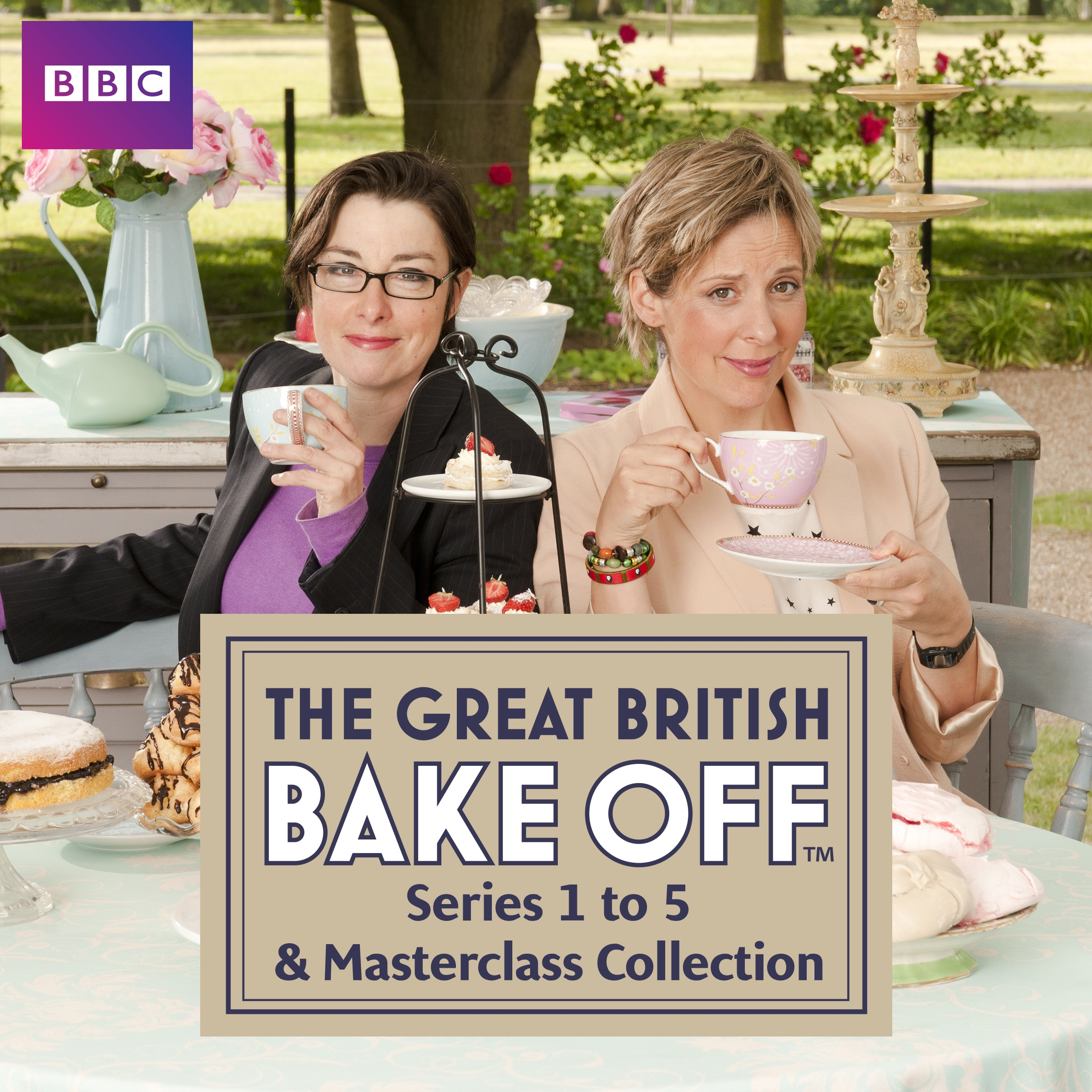 The Great British Bake Off, Series 1-5 & Masterclass ...