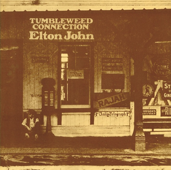 Tumbleweed Connection Remastered Elton John CD cover