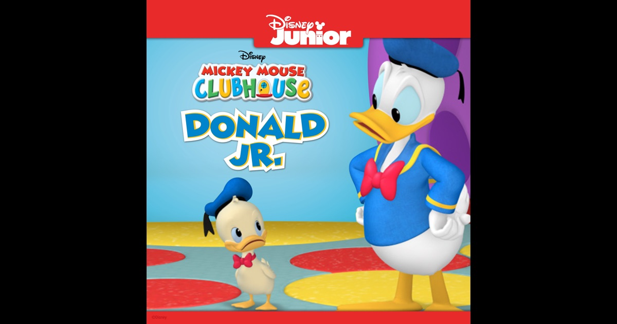 Mickey Mouse Clubhouse, Donald Jr. on iTunes
