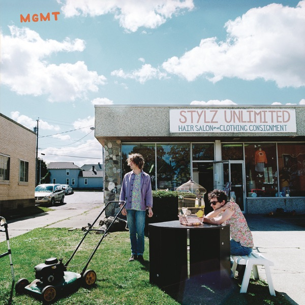 MGMT The Optimizer Deluxe Edition MGMT CD cover