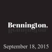 Ron Bennington - Bennington, September 18, 2015  artwork