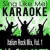 Italian Rock Mix, Vol. 1 (Karaoke Version)