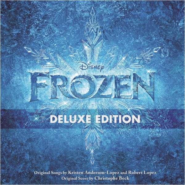 Frozen Deluxe Edition Original Motion Picture Soundtrack Various Artists CD cover