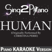 [Download] Human (Originally Performed By Christina Perri) [Piano Karaoke Version] MP3