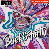 Back and Forth (Boehm Remix) - Single cover art