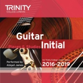 Trinity College London Guitar Initial 2016-2019