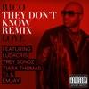 They Don't Know (Remix) [feat. Ludacris, Trey Songz, Tiara Thomas, T.I. & Emjay] - Single, Rico Love