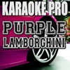 Purple Lamborghini (Originally Performed by Rick Ross & Skrillex) [Instrumental Version] - Single