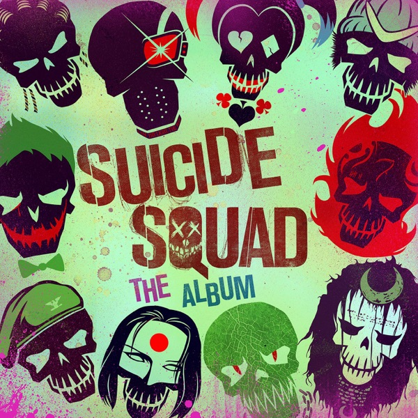 Suicide Squad The Album Various Artists CD cover