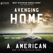 A. American - Avenging Home: The Survivalist Series, Book 7 (Unabridged)  artwork